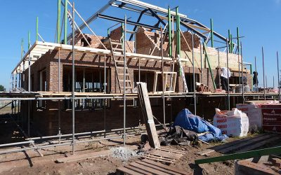 Woning aanbouw of opbouw
